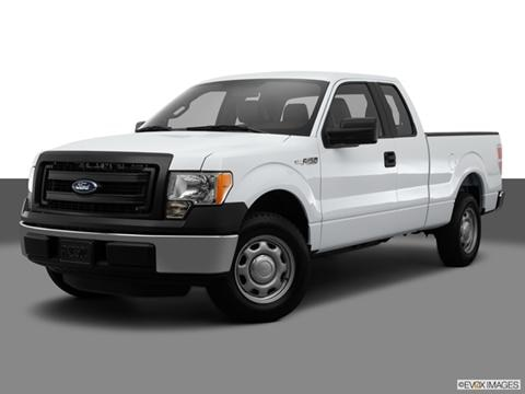 2014 Ford F150 Super Cab 4-door XL  Pickup Front angle medium view photo