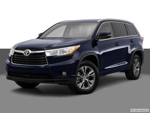 2014 Toyota Highlander 4-door XLE  Sport Utility Front angle medium view photo