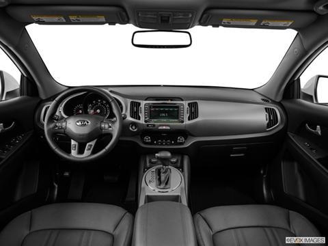 2014 Kia Sportage 4-door EX  Sport Utility Dashboard, center console, gear shifter view photo