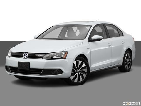 2014 Volkswagen Jetta 4-door Hybrid SEL Premium  Sedan Front angle medium view photo