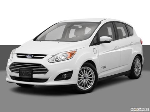 2014 Ford C-MAX Energi 4-door SEL  Wagon Front angle medium view photo