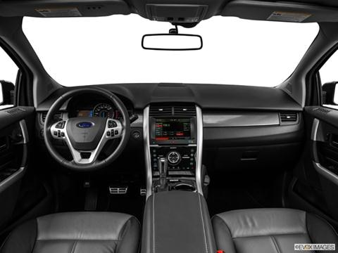 2014 Ford Edge 4-door Sport  Sport Utility Dashboard, center console, gear shifter view photo