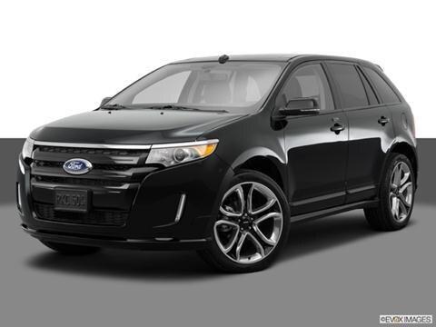 2014 Ford Edge 4-door Sport  Sport Utility Front angle medium view photo