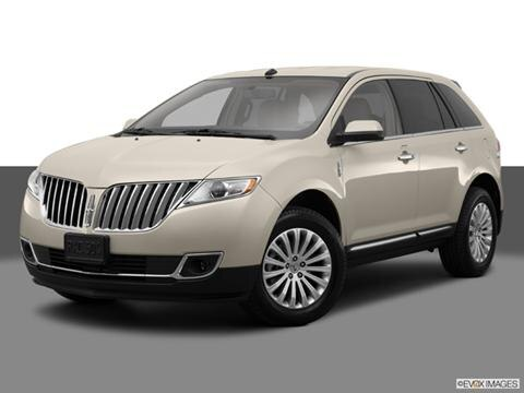 2014 Lincoln MKX 4-door   Sport Utility Front angle medium view photo