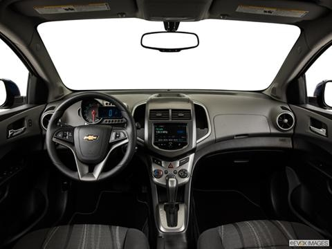 2014 Chevrolet Sonic 4-door LS  Sedan Dashboard, center console, gear shifter view photo