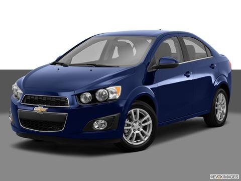 2014 Chevrolet Sonic 4-door LS  Sedan Front angle medium view photo