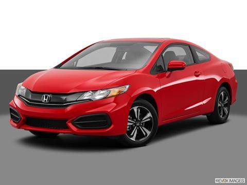 2014 Honda Civic 2-door EX  Coupe Front angle medium view photo