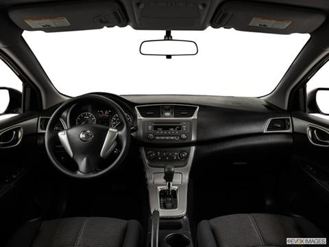 2014 Nissan Sentra 4-door S  Sedan Dashboard, center console, gear shifter view photo