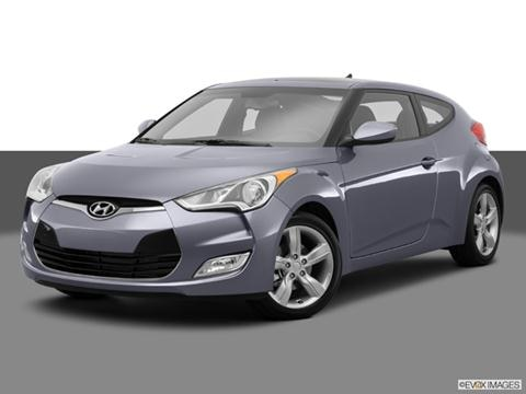 2014 Hyundai Veloster 3-door   Coupe Front angle medium view photo