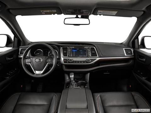 2014 Toyota Highlander 4-door Limited Platinum  Sport Utility Dashboard, center console, gear shifter view photo