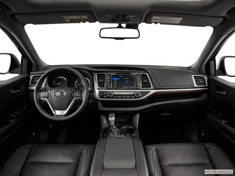 2014 Toyota Highlander 4-door Limited Platinum  Sport Utility Dashboard, center console, gear shifter view photo