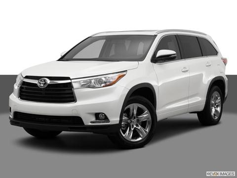 2014 Toyota Highlander 4-door Limited  Sport Utility Front angle medium view photo