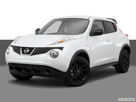 2014 Nissan JUKE 4-door S  Sport Utility Front angle medium view photo