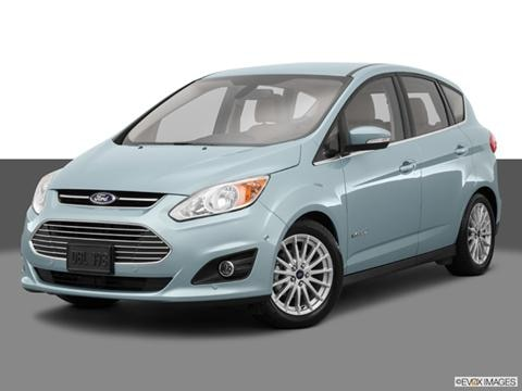 2014 Ford C-MAX Hybrid 4-door SE  Wagon Front angle medium view photo