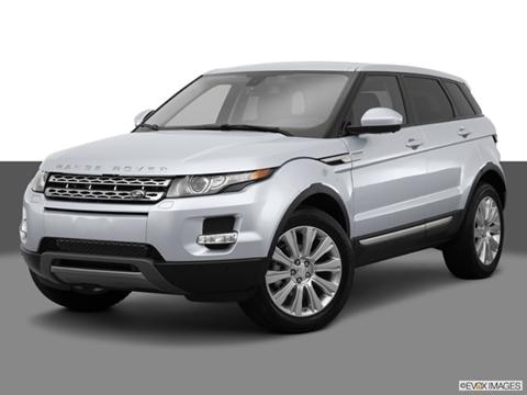 2014 Land Rover Range Rover Evoque 4-door Pure  Sport Utility Front angle medium view photo