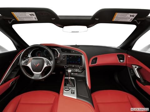 2014 Chevrolet Corvette 2-door Stingray  Convertible Dashboard, center console, gear shifter view photo