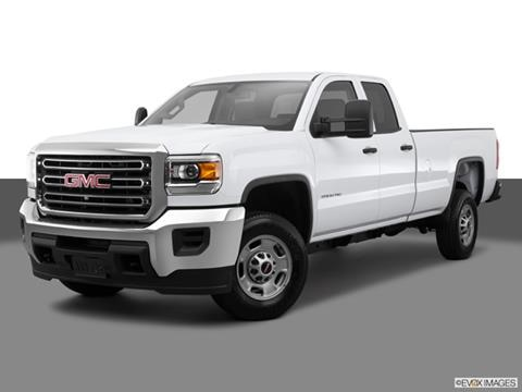 2015 GMC Sierra 2500 HD Double Cab 4-door SLE  Pickup Front angle medium view photo