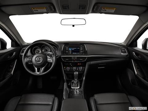 2015 Mazda MAZDA6 4-door i Sport  Sedan Dashboard, center console, gear shifter view photo