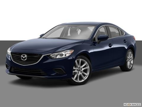 2015 Mazda MAZDA6 4-door i Sport  Sedan Front angle medium view photo