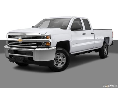 2015 Chevrolet Silverado 2500 HD Double Cab 4-door LTZ  Pickup Front angle medium view photo