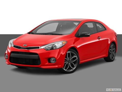 2014 Kia Forte 2-door Koup SX  Coupe Front angle medium view photo