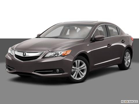 2014 Acura ILX 4-door Hybrid  Sedan Front angle medium view photo
