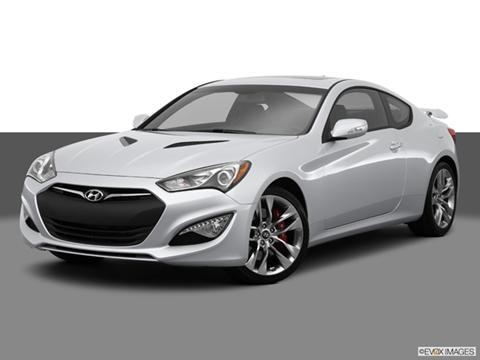 2014 Hyundai Genesis Coupe 2-door 3.8 Ultimate  Coupe Front angle medium view photo