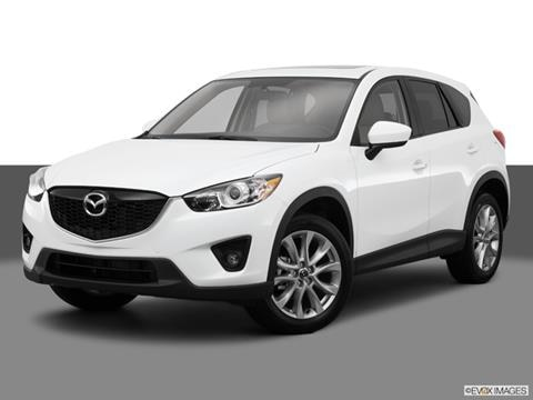 2015 Mazda CX-5 4-door Grand Touring  Sport Utility Front angle medium view photo