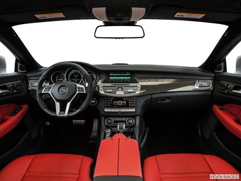 2014 Mercedes-Benz CLS-Class 4-door CLS63 AMG S 4MATIC  Coupe Dashboard, center console, gear shifter view photo