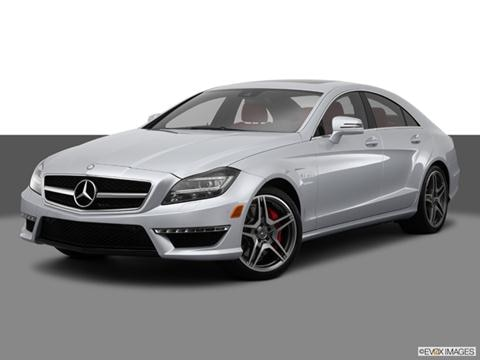 2014 Mercedes-Benz CLS-Class 4-door CLS63 AMG S 4MATIC  Coupe Front angle medium view photo
