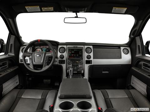 2014 Ford F150 SuperCrew Cab 4-door SVT Raptor  Pickup Dashboard, center console, gear shifter view photo
