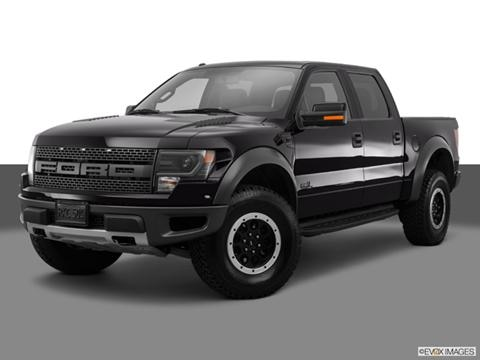 2014 Ford F150 SuperCrew Cab 4-door SVT Raptor  Pickup Front angle medium view photo