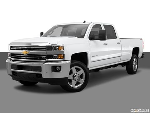 2015 Chevrolet Silverado 2500 HD Crew Cab 4-door Work Truck  Pickup Front angle medium view photo