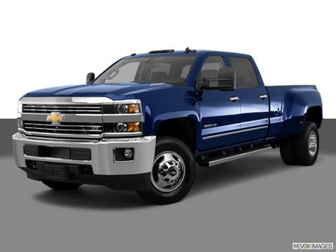 2015 Chevrolet Silverado 3500 HD Crew Cab 4-door Work Truck  Pickup Front angle medium view photo