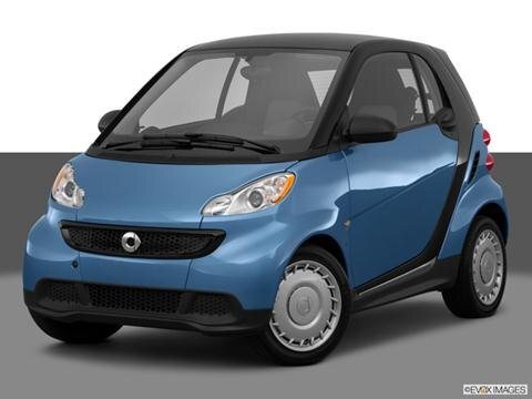 2014 smart fortwo 2-door Pure  Hatchback Coupe Front angle medium view photo