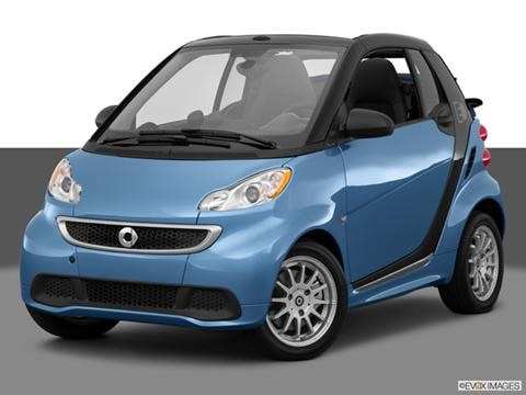2014 smart fortwo electric drive 2-door   Cabriolet Front angle medium view photo