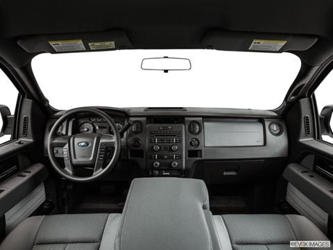 2014 Ford F150 Regular Cab 2-door XL  Pickup Dashboard, center console, gear shifter view photo