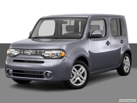 2014 Nissan cube 4-door S  Wagon Front angle medium view photo