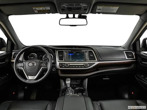 2014 Toyota Highlander 4-door Limited Hybrid  Sport Utility Dashboard, center console, gear shifter view photo