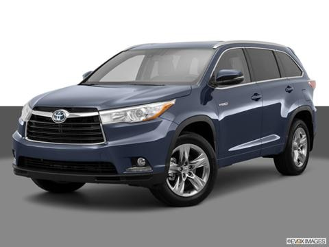 2014 Toyota Highlander 4-door Limited Platinum Hybrid  Sport Utility Front angle medium view photo
