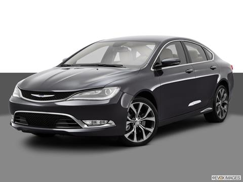 2015 Chrysler 200 4-door LX  Sedan Front angle medium view photo