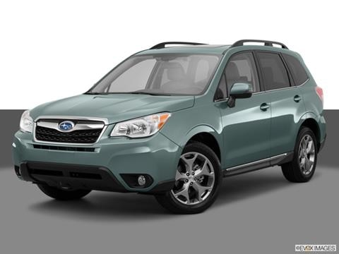 2015 Subaru Forester 4-door 2.5i Touring  Sport Utility Front angle medium view photo