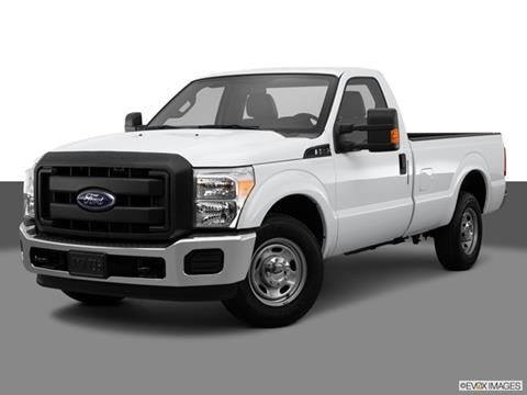 2015 Ford F250 Super Duty Regular Cab 2-door XLT  Pickup Front angle medium view photo