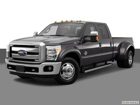 2015 Ford F350 Super Duty Crew Cab 4-door XL  Pickup Front angle medium view photo