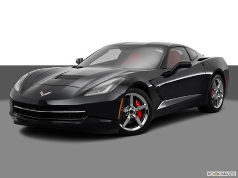 2014 Chevrolet Corvette 2-door Stingray  Coupe Front angle medium view photo