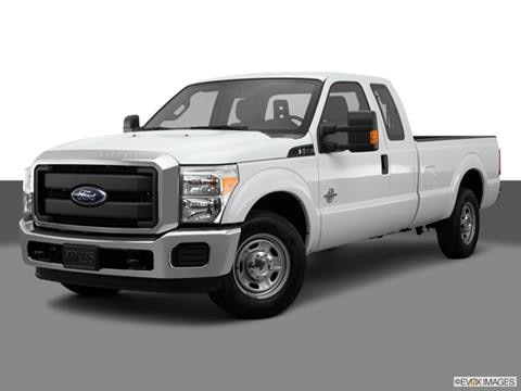 2015 Ford F350 Super Duty Super Cab 4-door XL  Pickup Front angle medium view photo