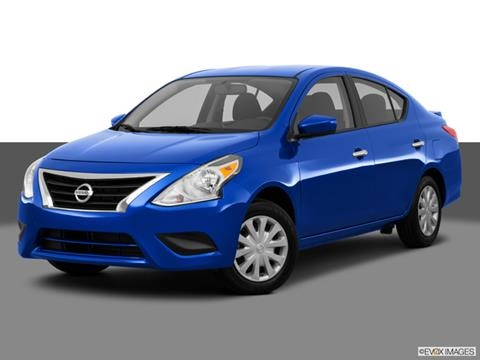 2015 Nissan Versa 4-door SL  Sedan Front angle medium view photo
