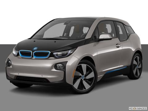 2014 BMW i3 4-door   Hatchback Front angle medium view photo