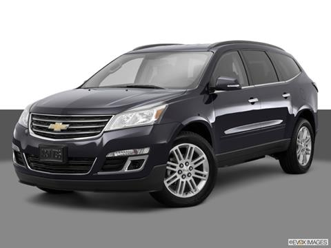 2015 Chevrolet Traverse 4-door LT  Sport Utility Front angle medium view photo