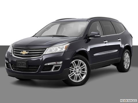 2015 Chevrolet Traverse 4-door LT  Sport Utility Front angle medium view photo